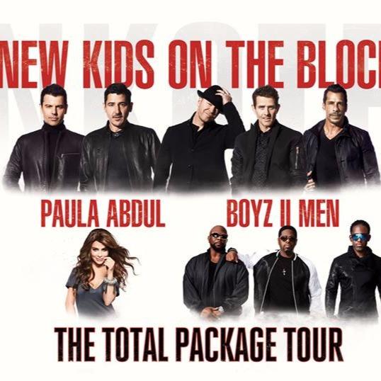 New Kids On The Block, Paula Abdul & Boyz II at T-Mobile Arena