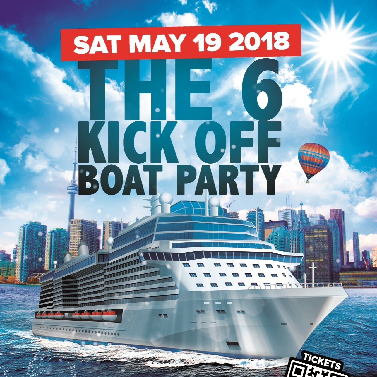 The 6 Kick Off Boat Party