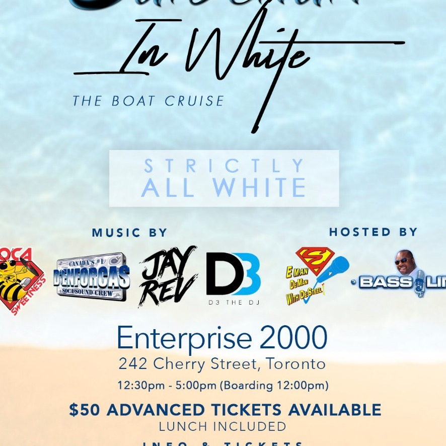 Saldenah In White - The Boat Cruise