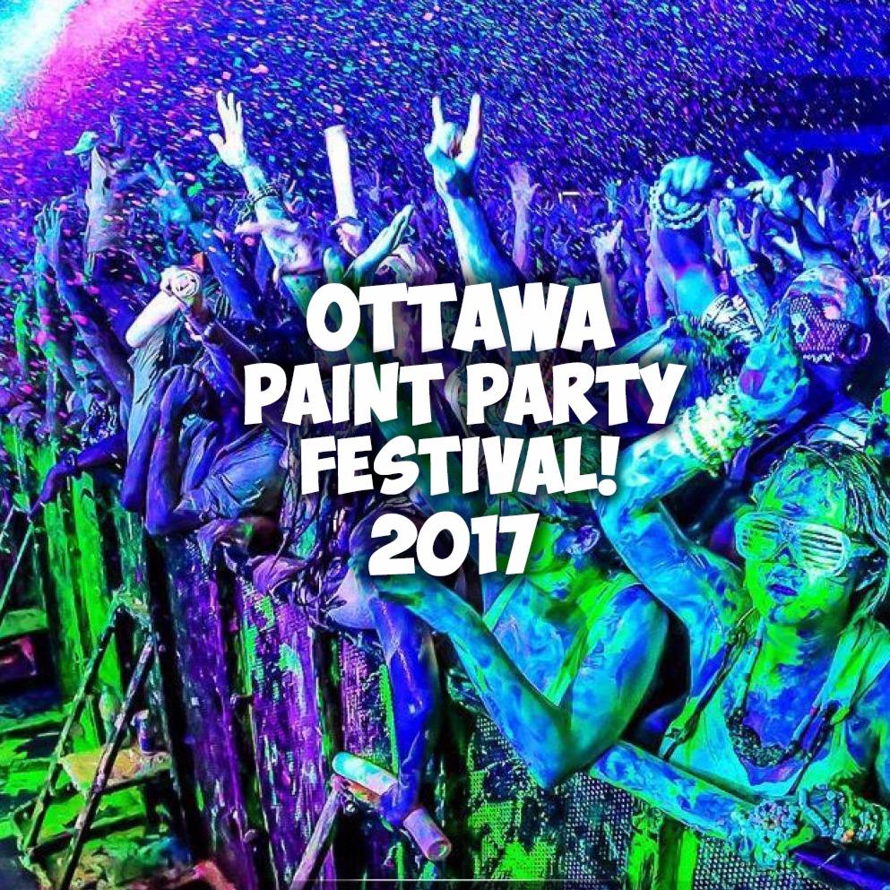 OTTAWA PAINT PARTY FEST 2017 | OFFICIAL MEGA PARTY!