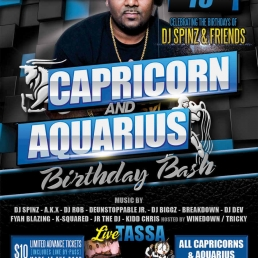 CAPRICORN AND AQUARIUS BIRTHDAY BASH