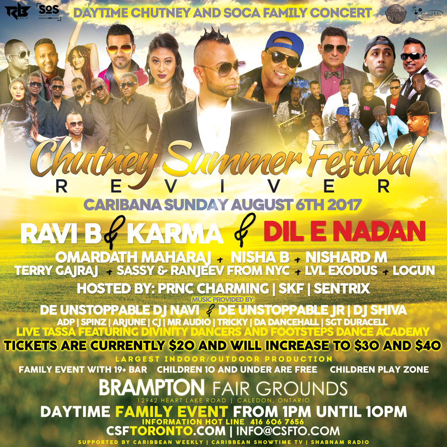 REVIVOR | The Chutney Soca Daytime Family Concert
