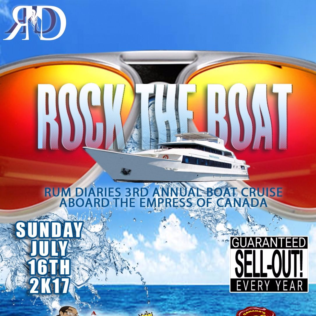 Rock The Boat | Rum Diaries 3rd Annual Boat Cruise