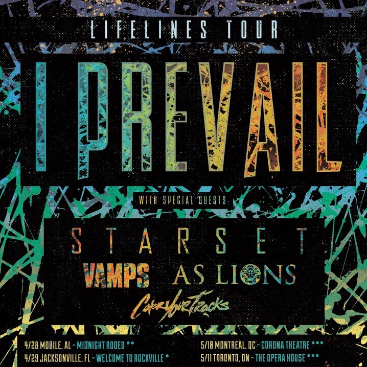 I Prevail at The Opera House