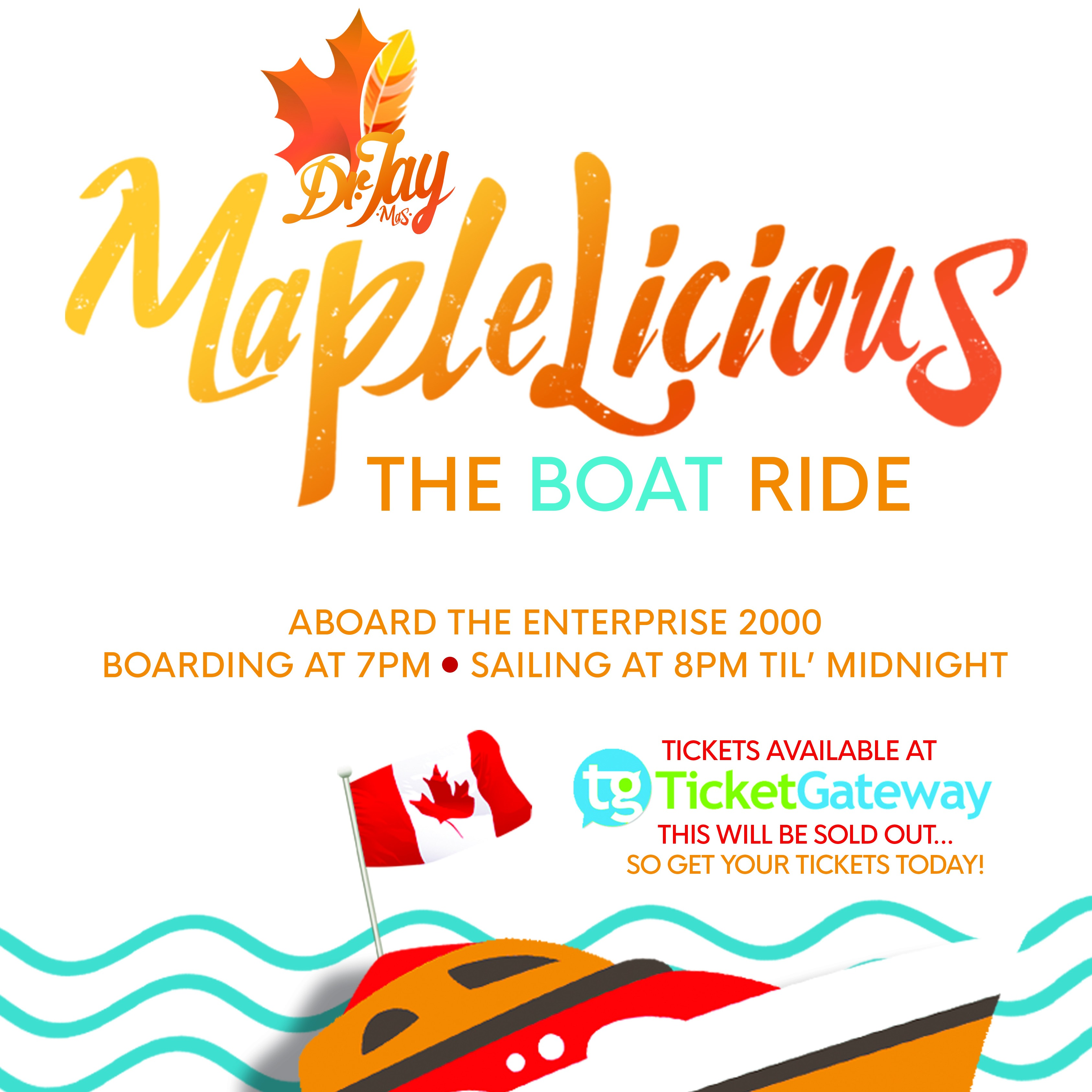 MapleLicious | The Boat Ride