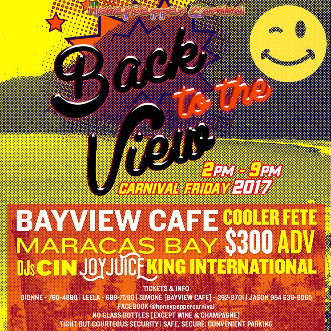 Back to the View - Cooler Fete