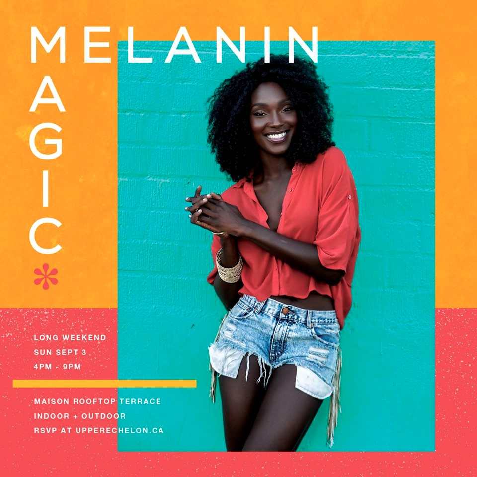 MELANIN MAGIC* Rooftop Day Party