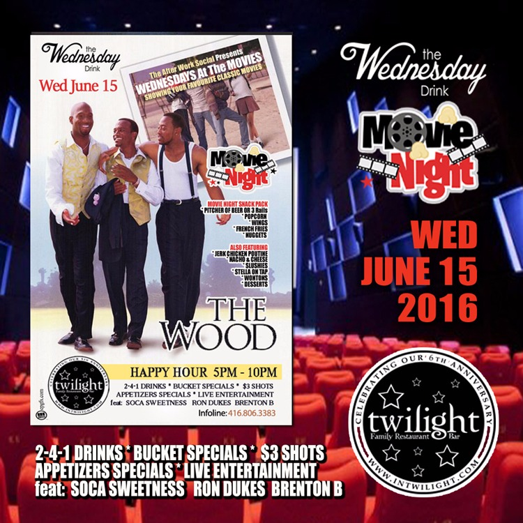 The After Work Social Wednesdays - THE WOOD