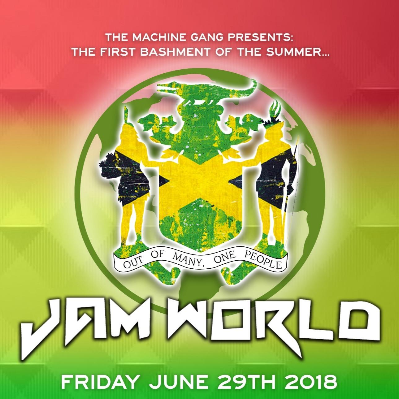 JAMWORLD - 100% REGGAE & DANCEHALL - First Bashment of the Summer!