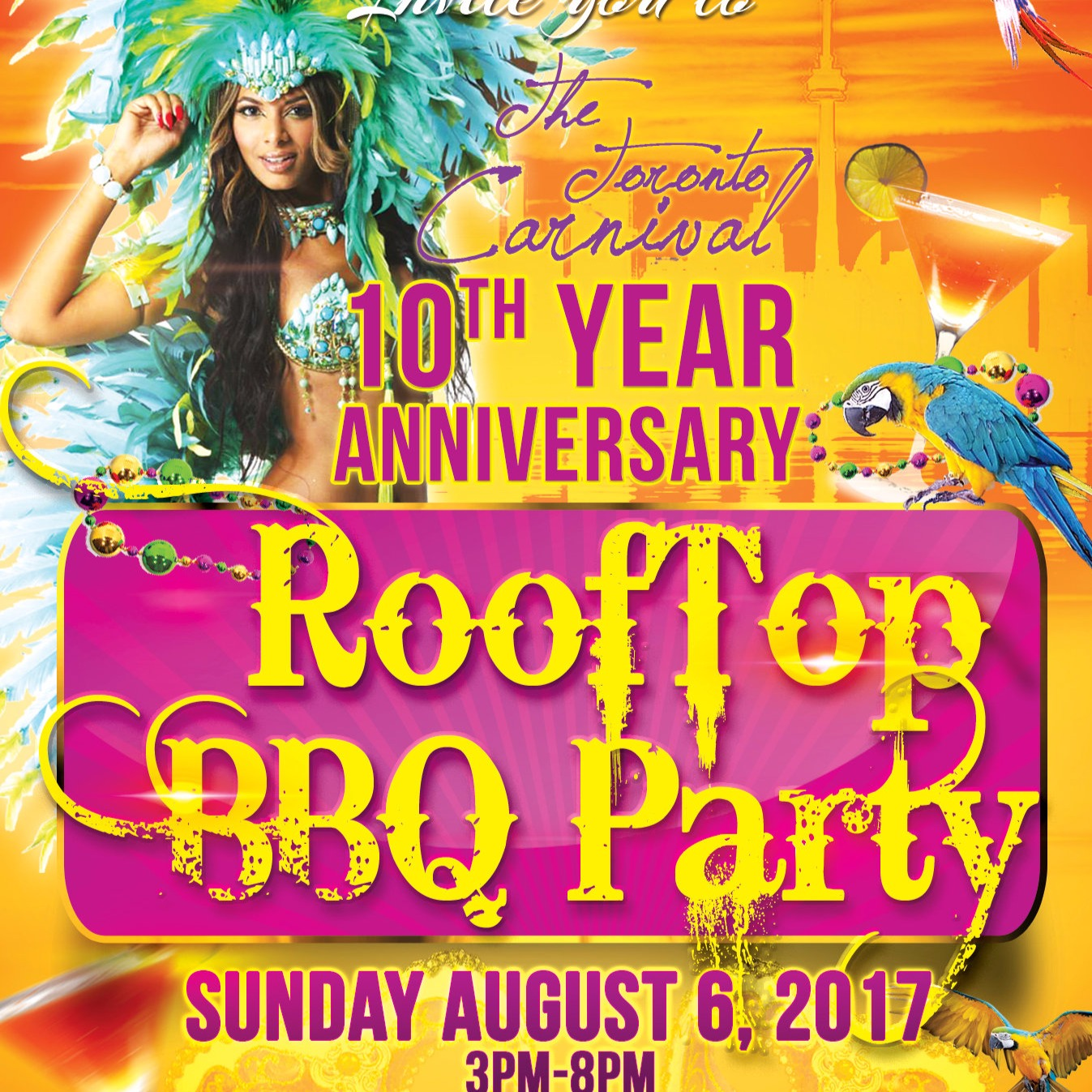 10th Annual Rooftop BBQ Party
