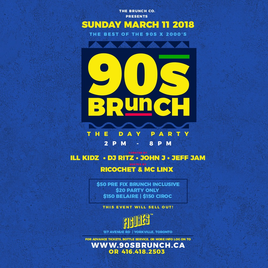 THE 90s BRUNCH - The Day Party