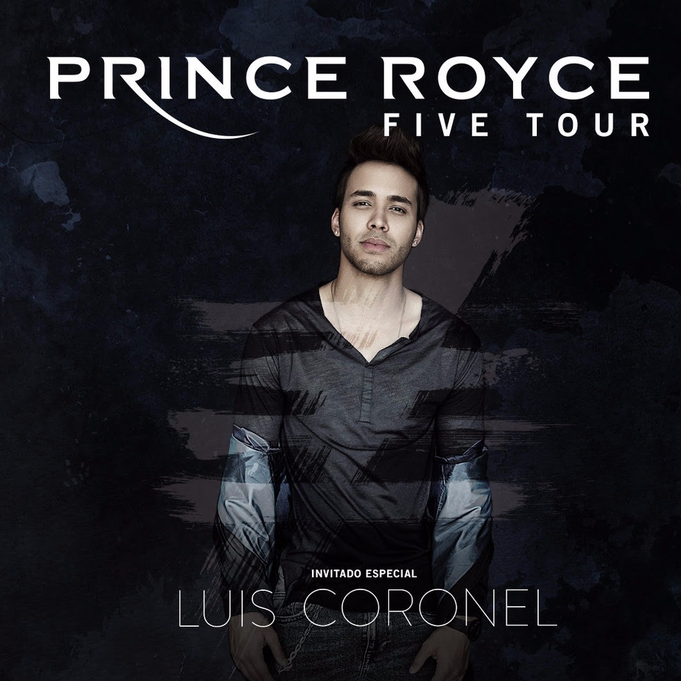 Prince Royce - FIVE TOUR at The Theater at Madison Square Garden