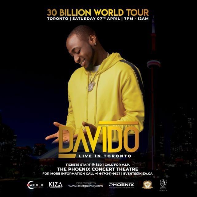 Davido Live In Toronto