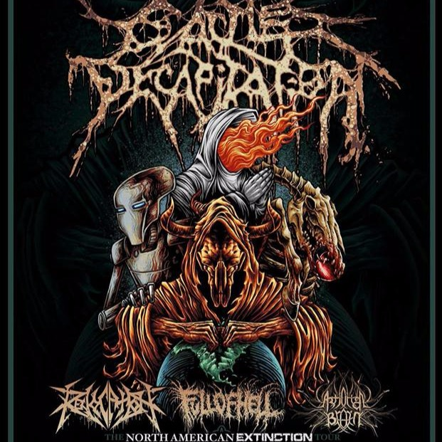 Cattle Decapitation at The Opera House