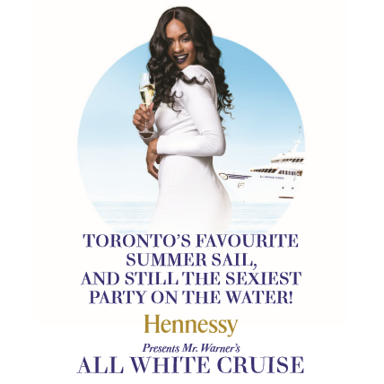 Mr. Warner's All White Boat Cruise