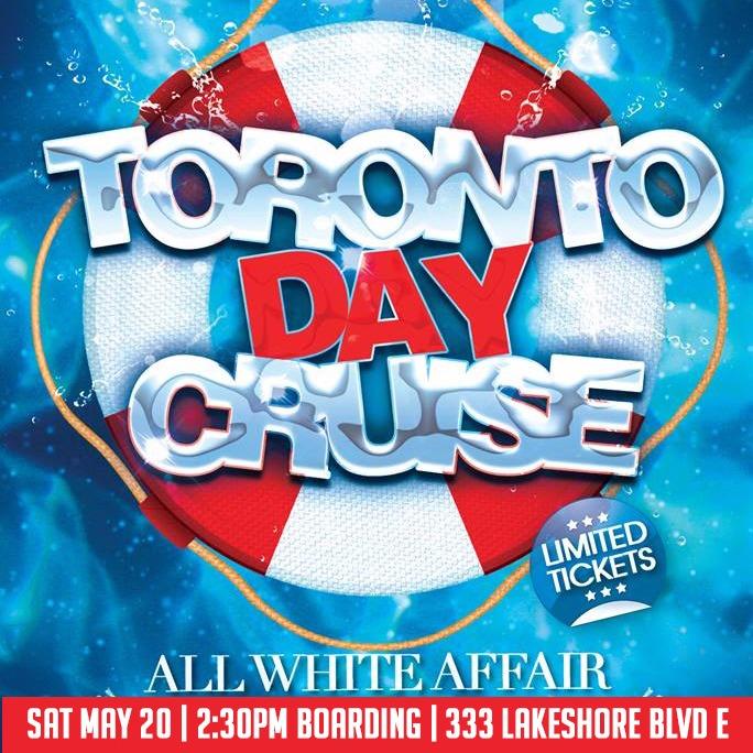Victoria Day Boat Cruise ALL WHITE THEME   Sat May 20 @ Aurora Borealis