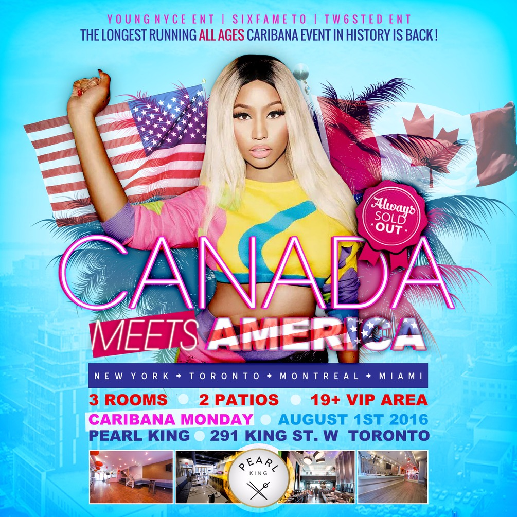 CANADA MEETS AMERICA