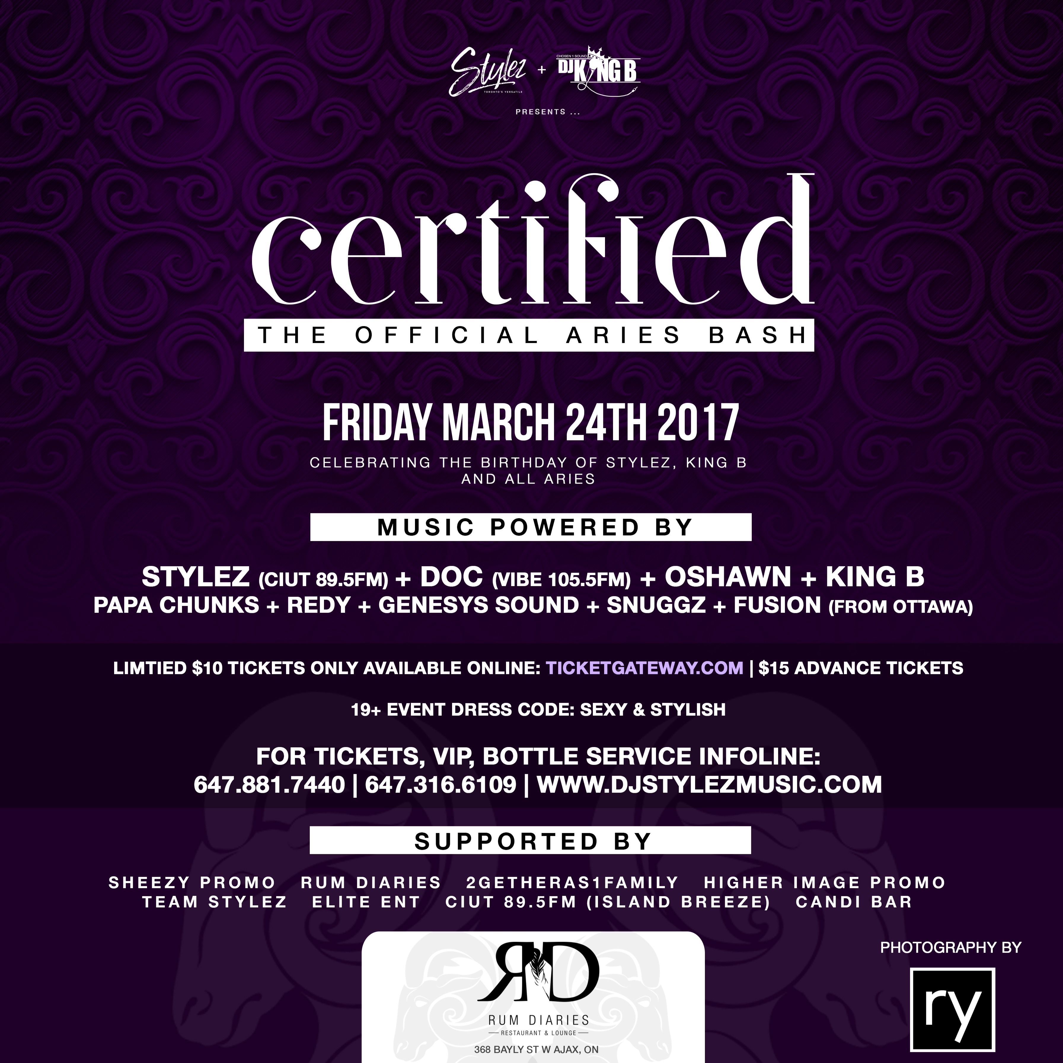 Certified [The Official Aries Bash]