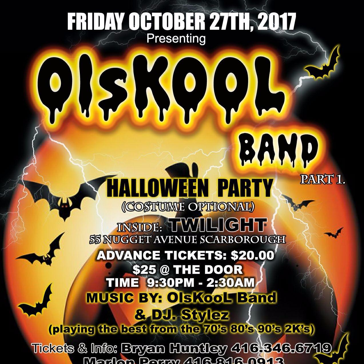OLsKool BAND HALLOWEEN PARTY