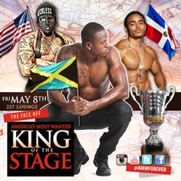 AMW - KING OF THE STAGE - TORONTO - FRI MAY 8TH