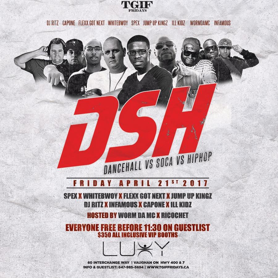 TGIF Fridays - DSH