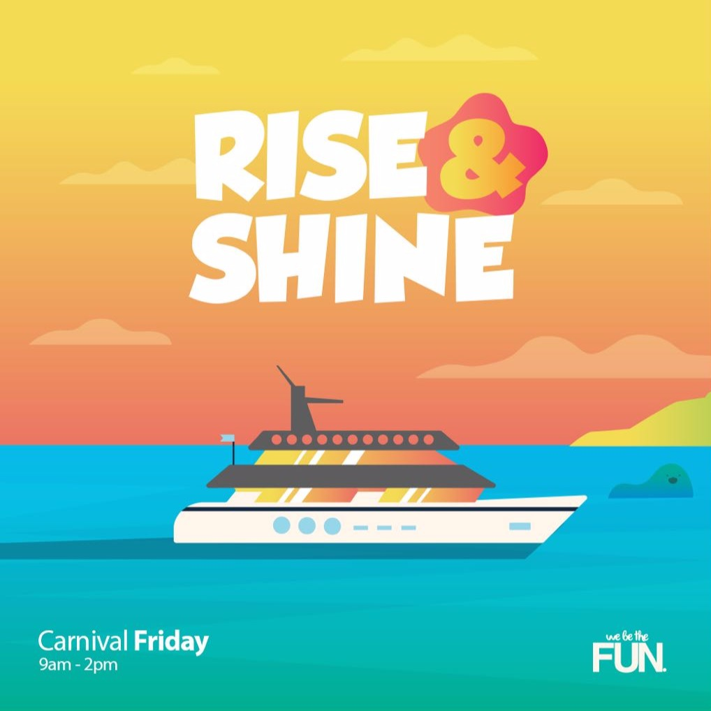 Rise & Shine - Yacht Party