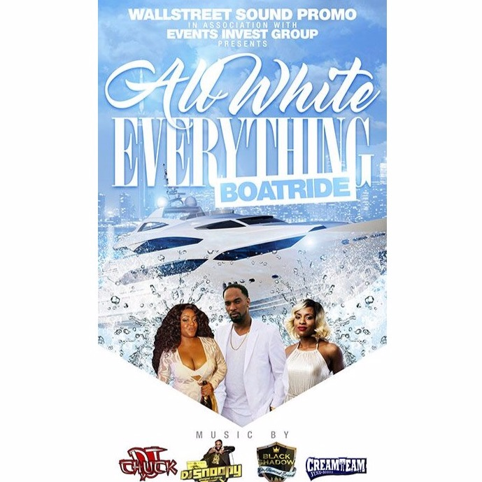 ALL WHITE EVERYTHING BOATRIDE