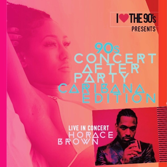 I love the 90's Concert & After party | Caribana Edition