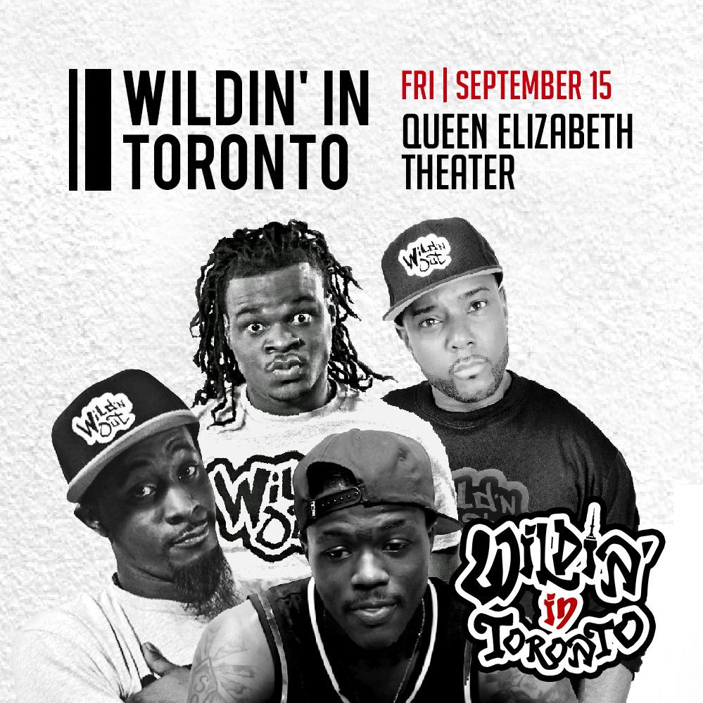 Wildin in Toronto (Soul Food Comedy Festival 2017)