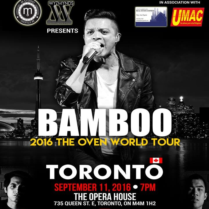 BAMBOO Live Concert in Toronto with guest ABRA