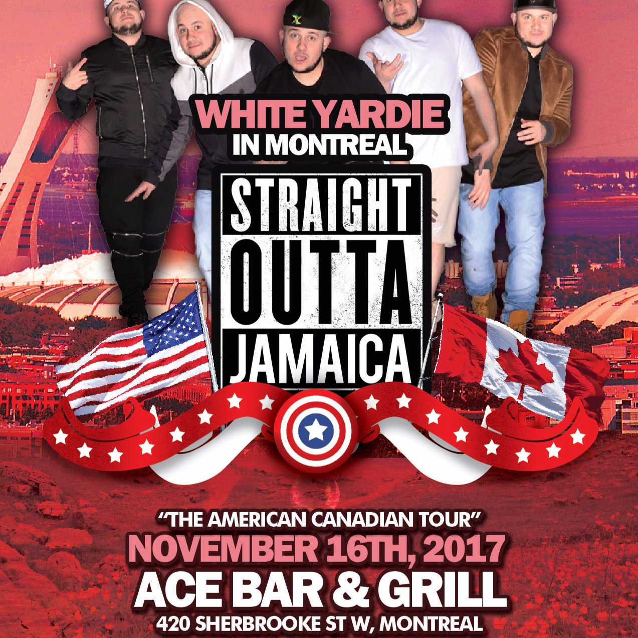 White Yardie & JUICE Comedy present STRAIGHT OUTTA JAMAICA TOUR - Montreal