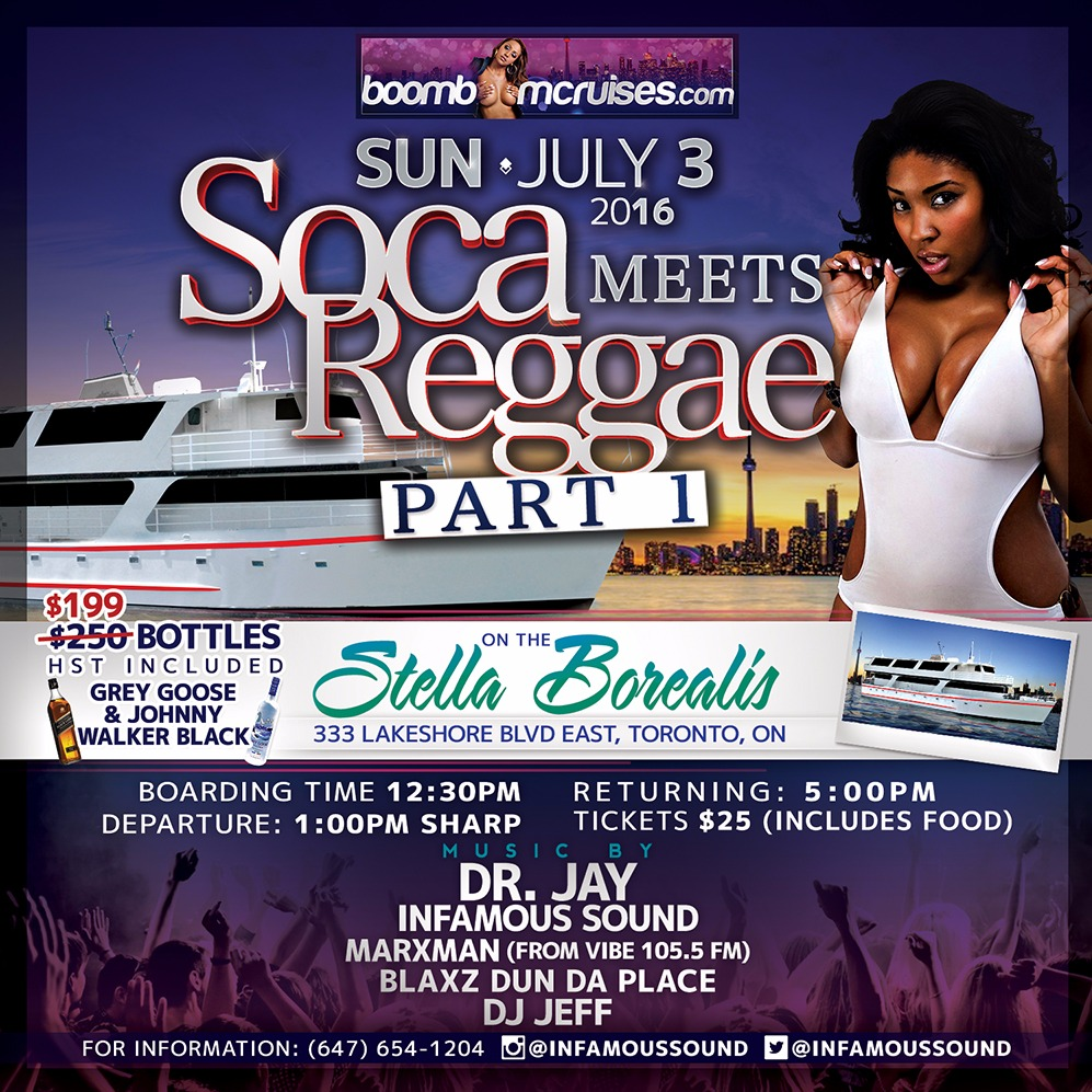 Soca Meets Reggae Part 1
