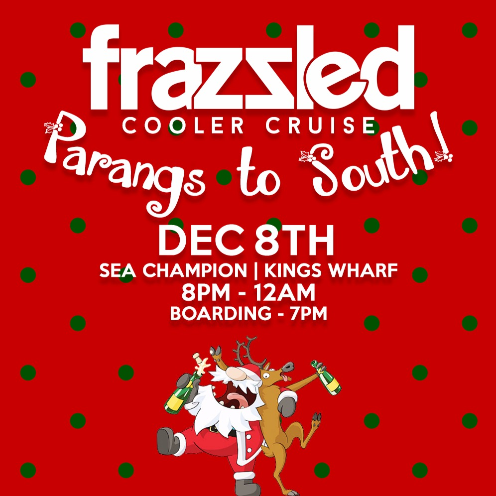 Frazzled Cooler Cruise Christmas Edition