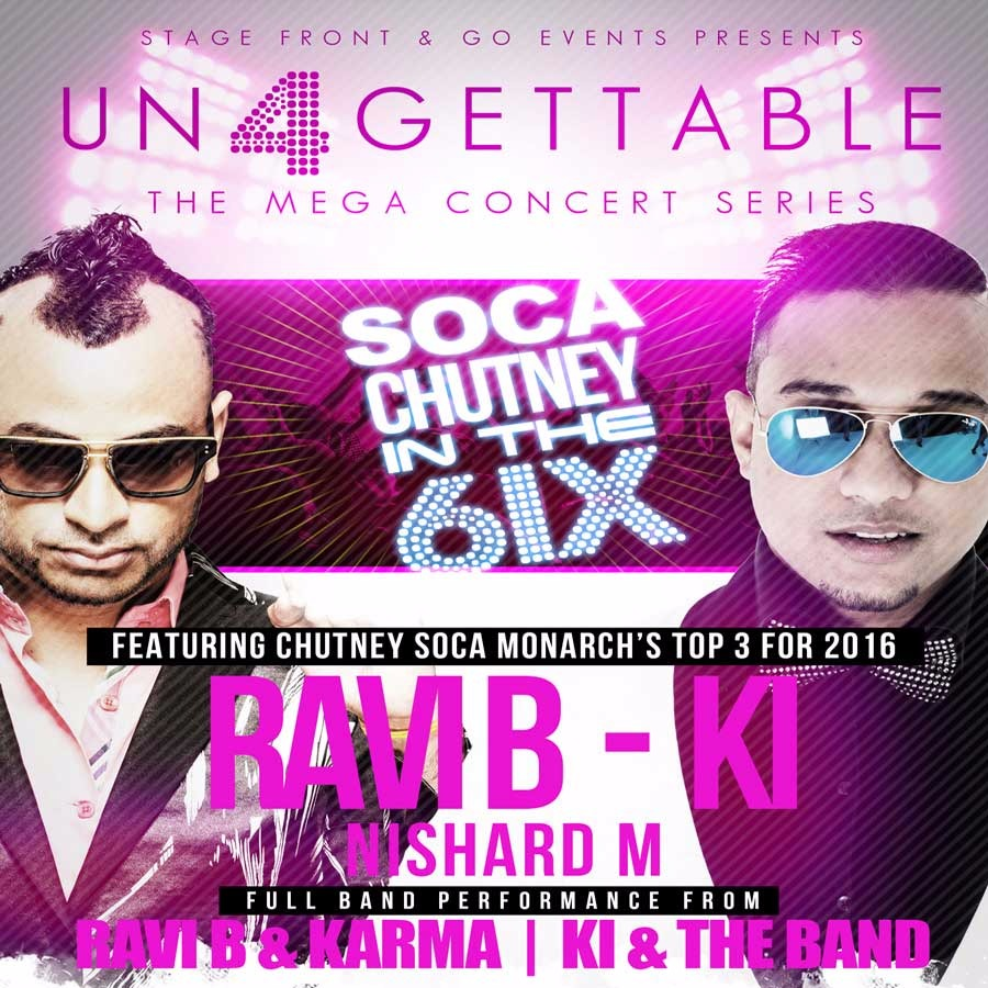 event view ungettable mega concert series soca chutney