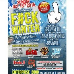 THE ANNUAL F#CK WINTER BOAT CRUISE