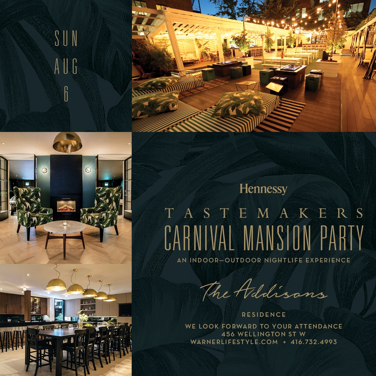 TASTEMAKERS - CARNIVAL MANSION PARTY.