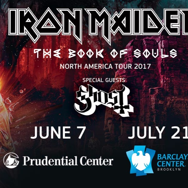 Iron Maiden - The Book Of Souls Tour 2017 at Barclays Center