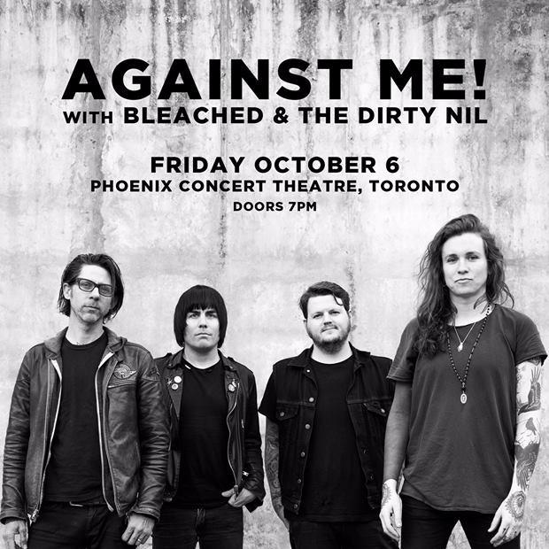 Against Me! at Phoenix Concert Theatre