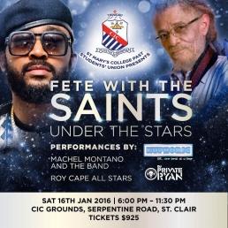 Fete With The Saints 2016