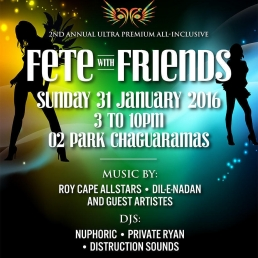 Fete with Friends - All Inclusive