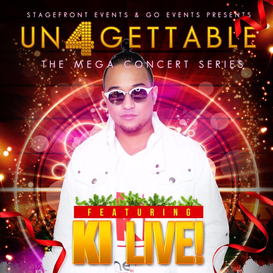 UNFORGETTABLE CHRISTMAS COUNTDOWN Feat. KI LIVE