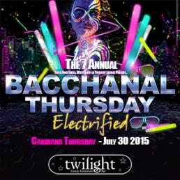 BACCHANAL THURSDAY - ELECTRIFIED