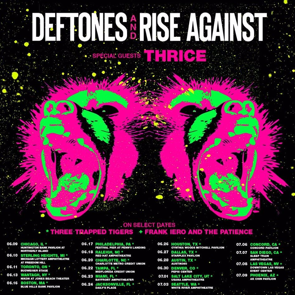 Deftones & Rise Against at Northwell Health at Jones Beach Theater