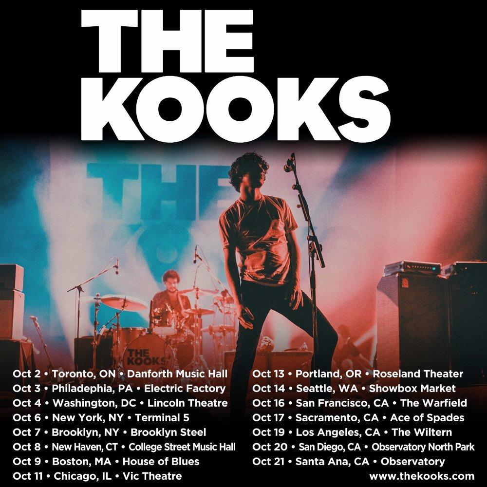 The Kooks at Danforth Music Hall