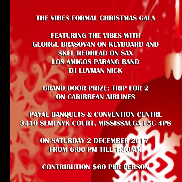 THE VIBES FORMAL CHRISTMAS GALA 2017