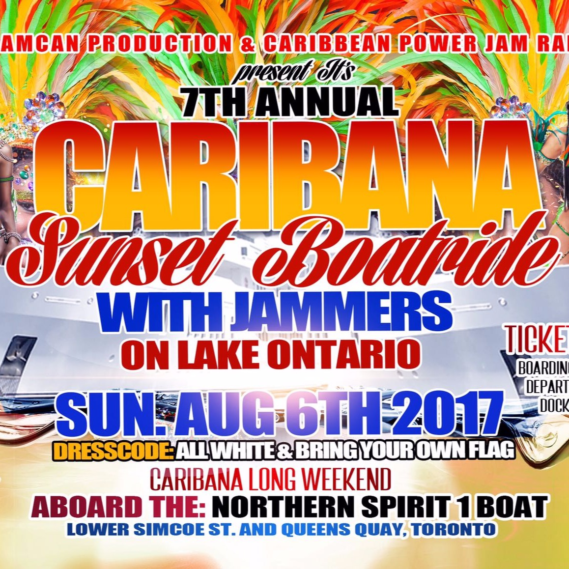 Caribana Sunset Boat Ride 2017