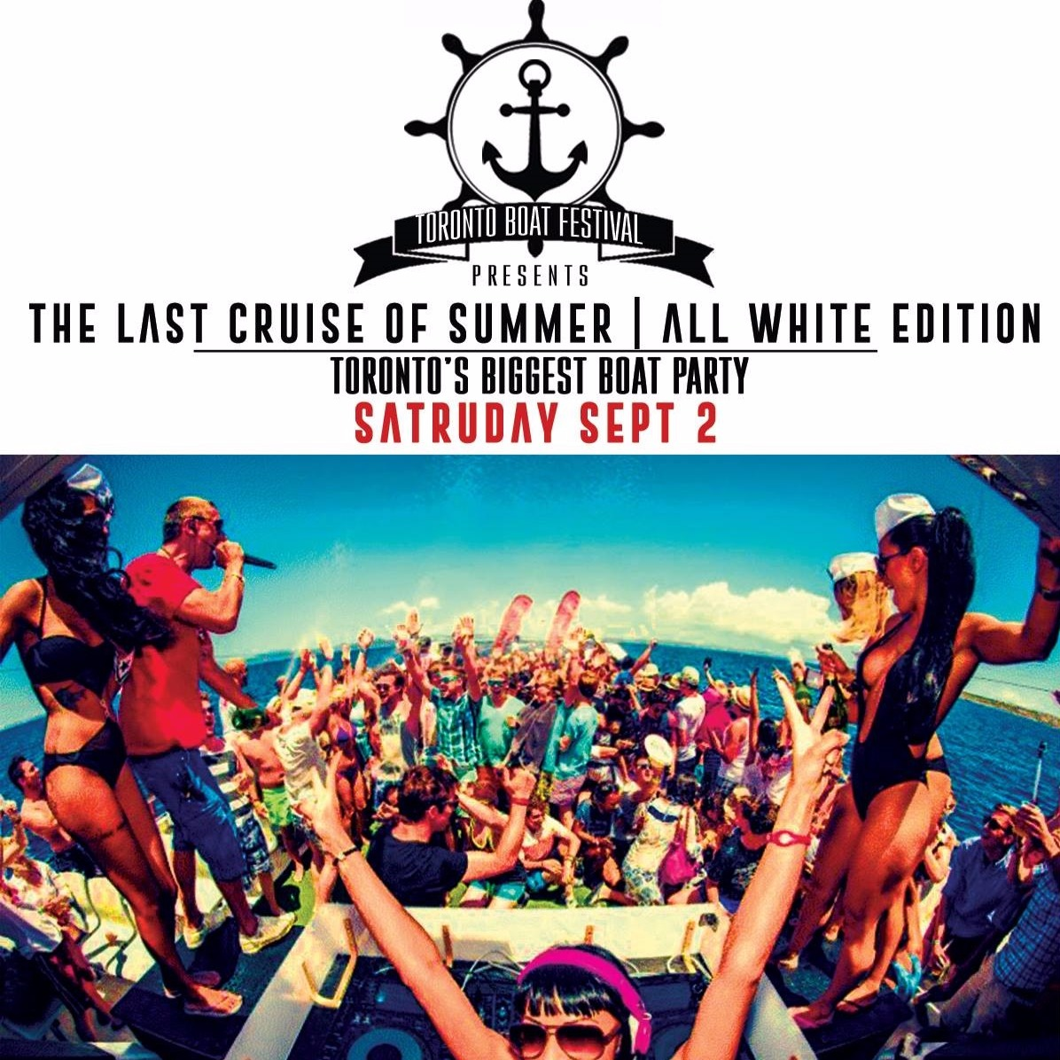 The Last Boat Cruise of Summer - Sat Sept 2nd