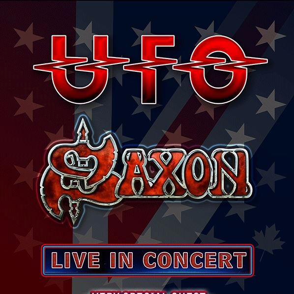 UFO & Saxon at Queen Elizabeth Theatre