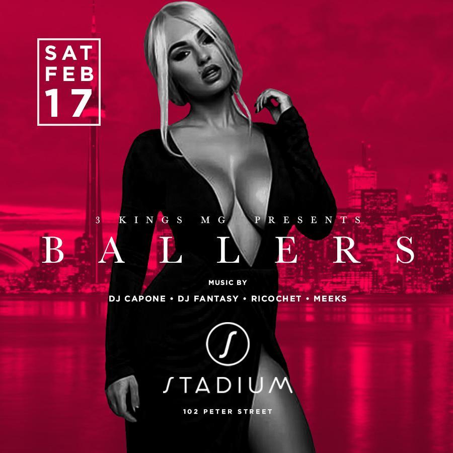 BALLERS LONG WEEKEND @STADIUM
