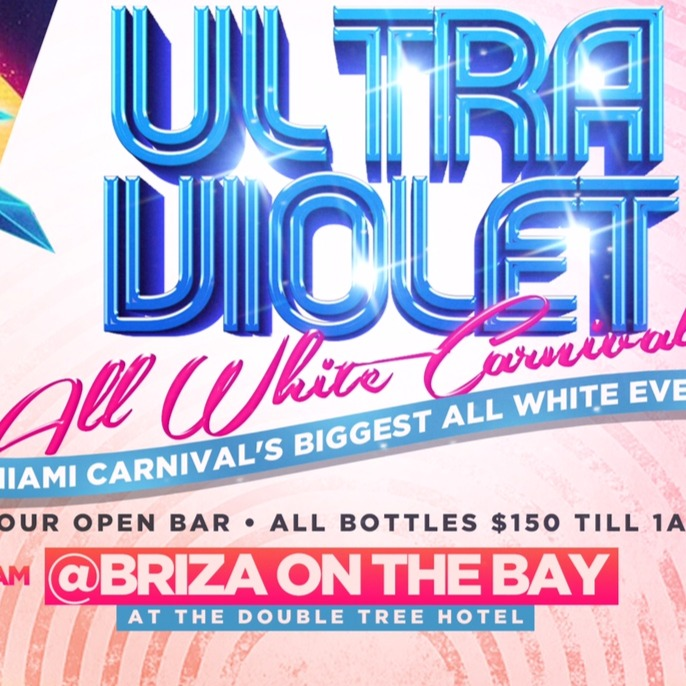ULTRA VIOLET ALL WHITE MIAMI CARNIVAL 2017